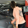 Finding that electric vehicle plug-in