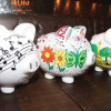 Piggy-banking on Coral Gables events