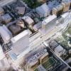 800 residences set above railway depot