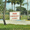 Pollution keeps parks closed for years