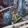4 riverfront towers of 58 to 60 stories likely