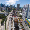 Brightline passenger rail service 65% built