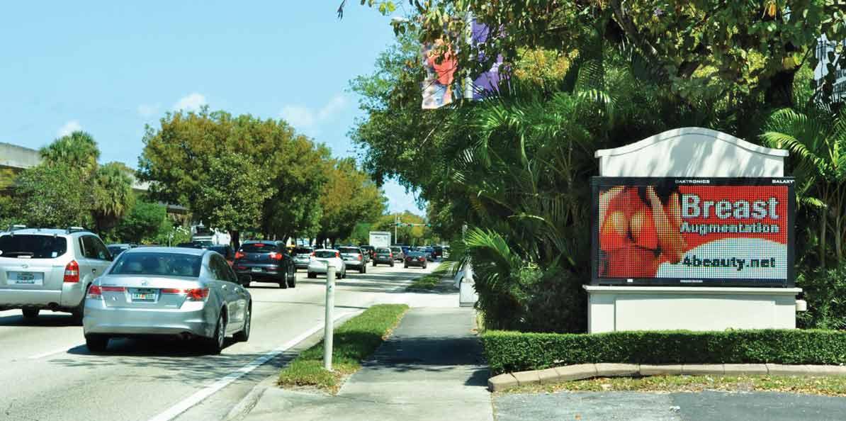Miami ducking decision on illuminated signs