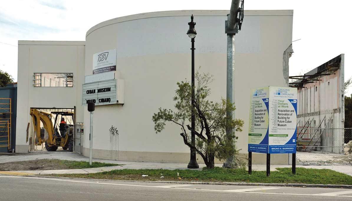 New Cuban Museum work begins