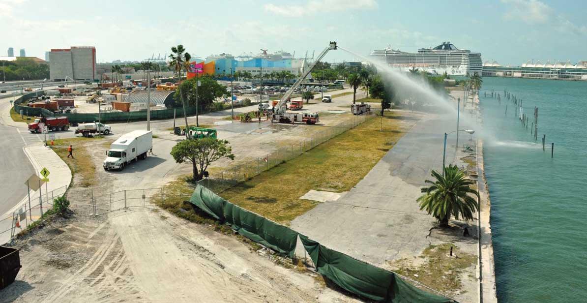Island Gardens says work has begun