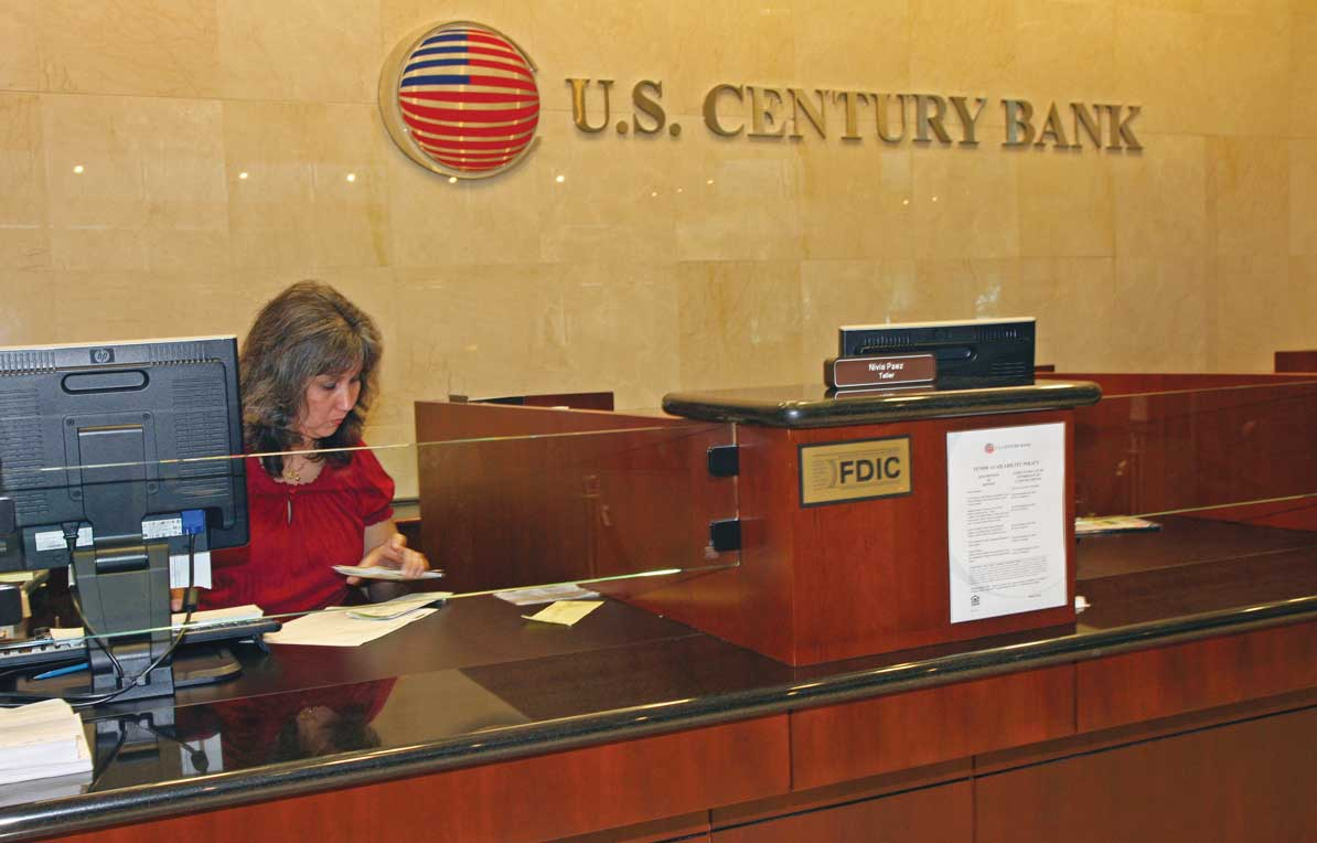 US Century Bank says sale near