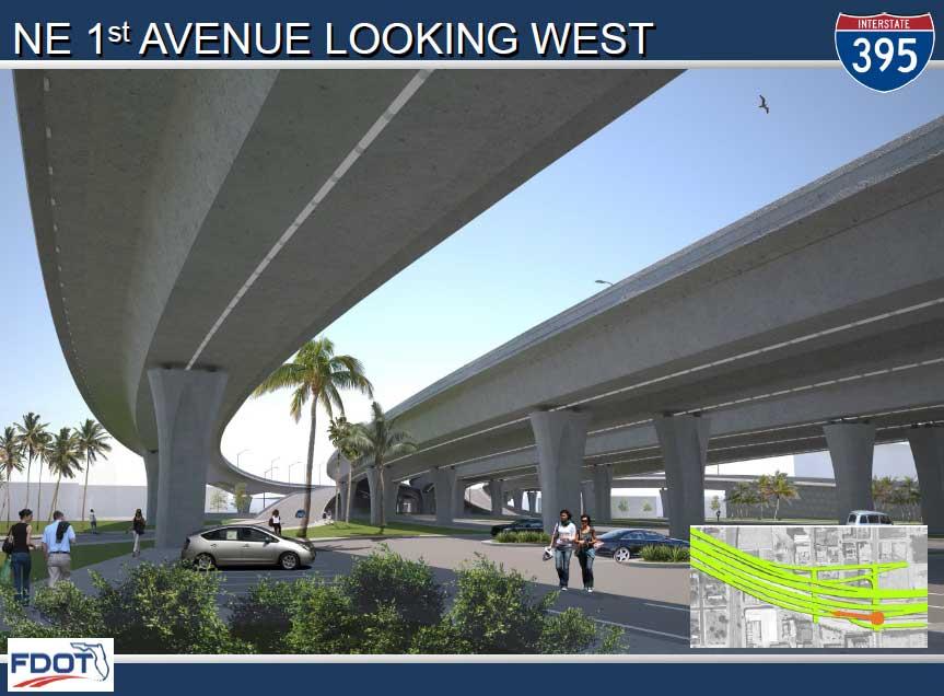 New I-395 bridge getting head start