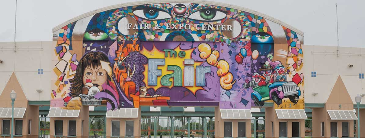 Fair takes offensive in site battle