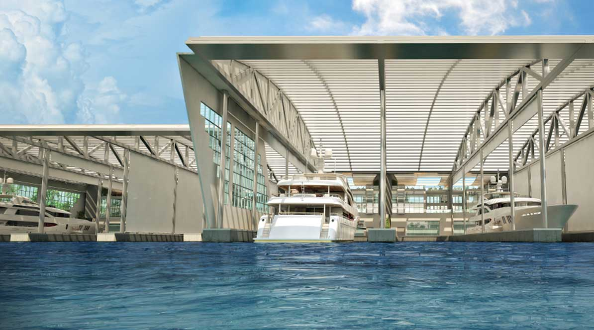 River mega-marina first of its kind globally