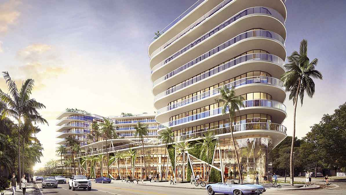 New luxury condos on Biscayne Boulevard