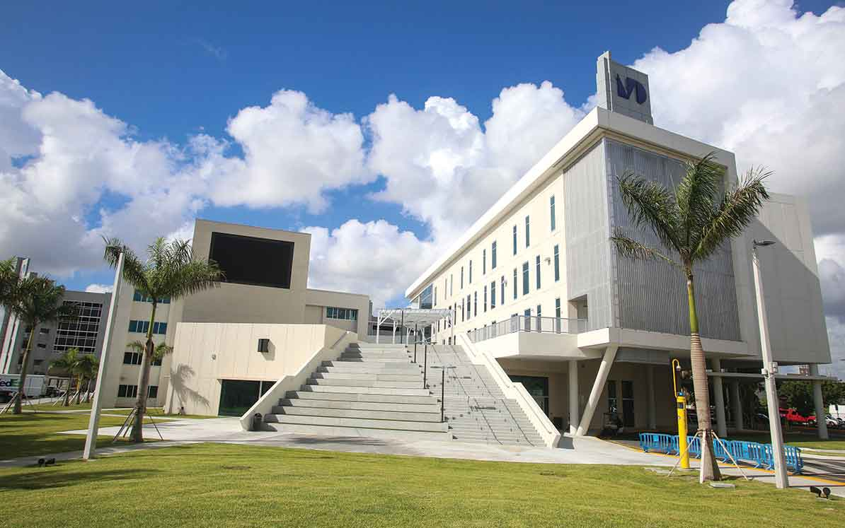 Miami Dade College in building mode
