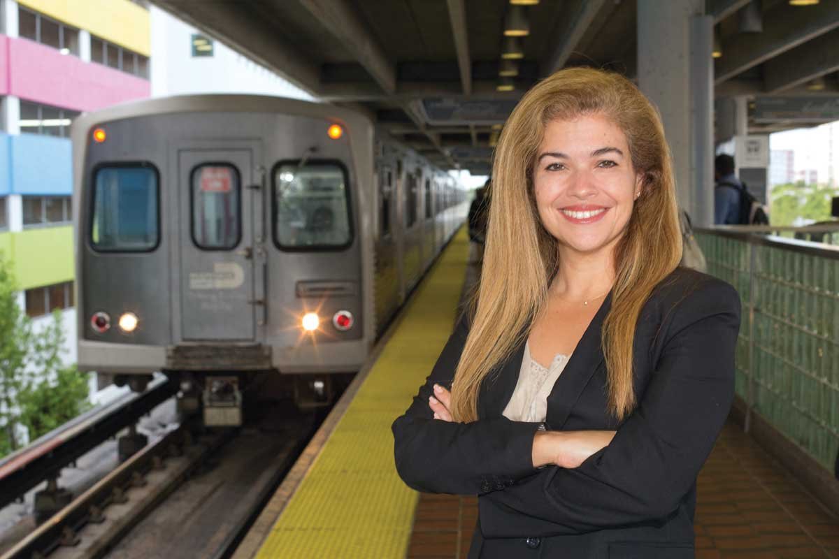 Alice Bravo: Transit chief seeks alternatives to use of private cars
