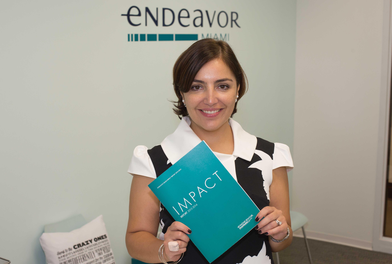 Laura Maydón: Endeavor director targets high-impact entrepreneurs