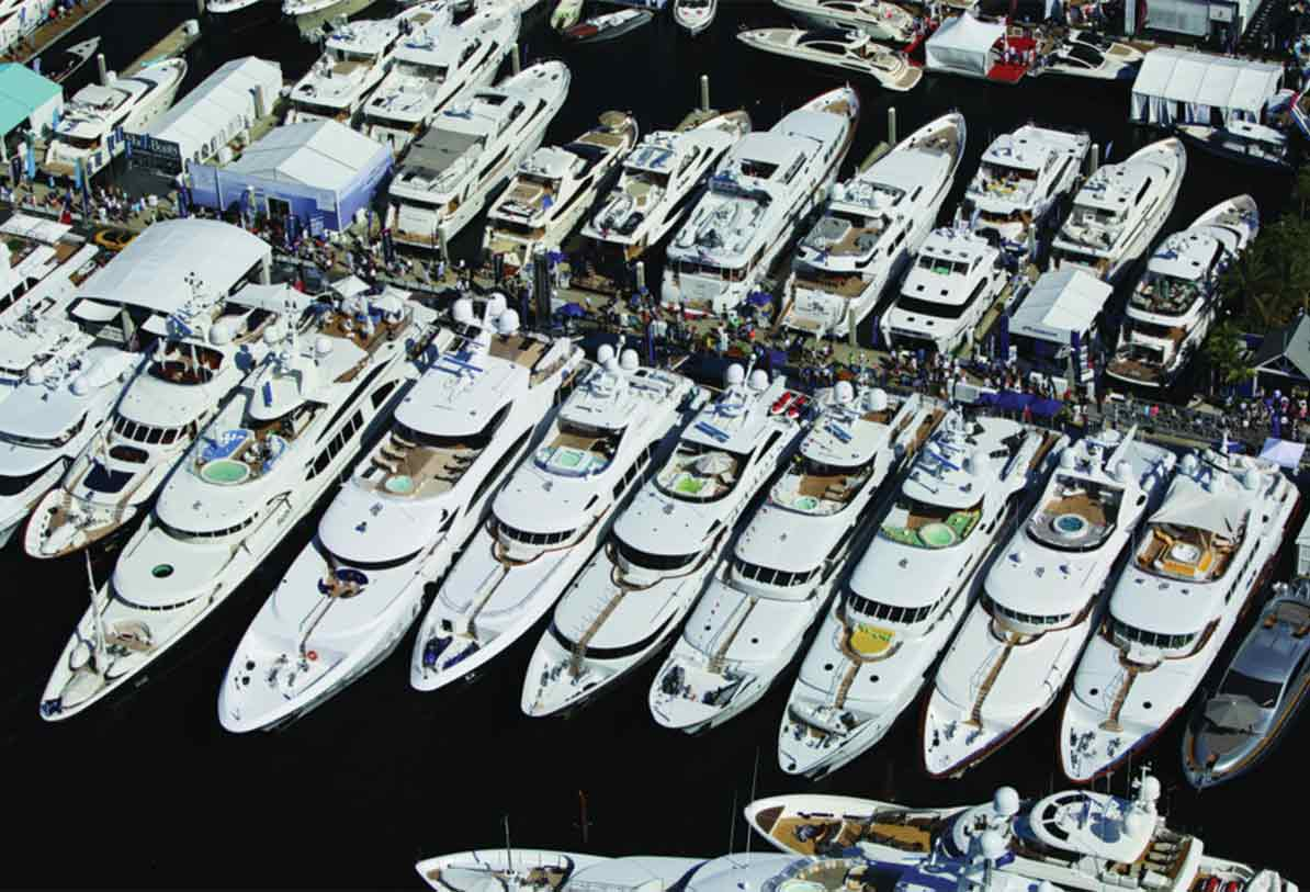 As boat show closes, super-yacht marina nears opening