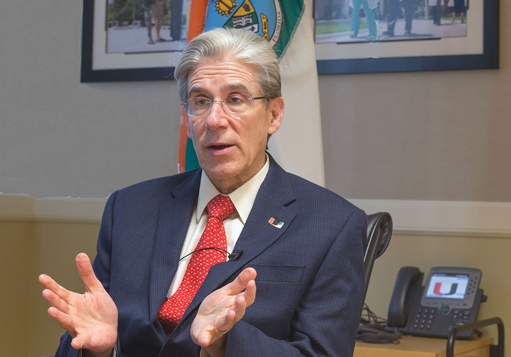 Julio Frenk: University of Miami president seeks training for change