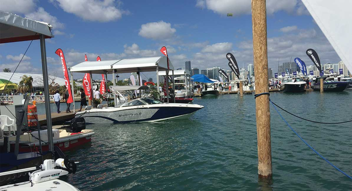 80% seeing Miami International Boat Show took transit