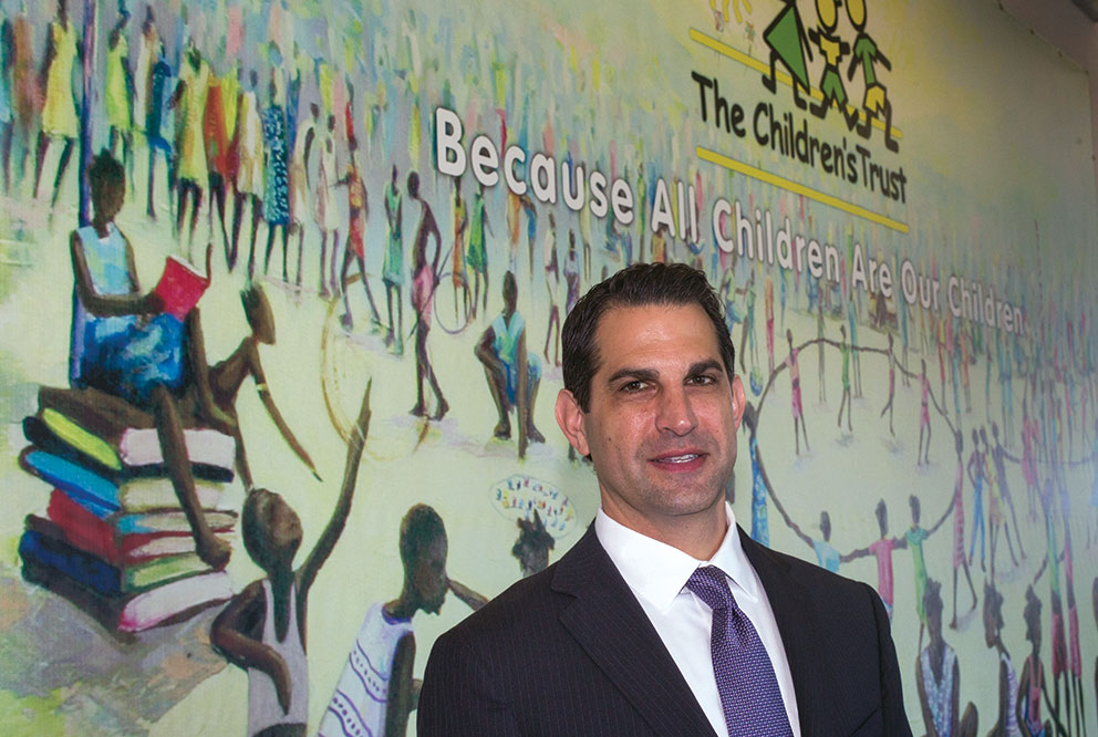 James Haj: Leads Children's Trust after 25 years in public schools