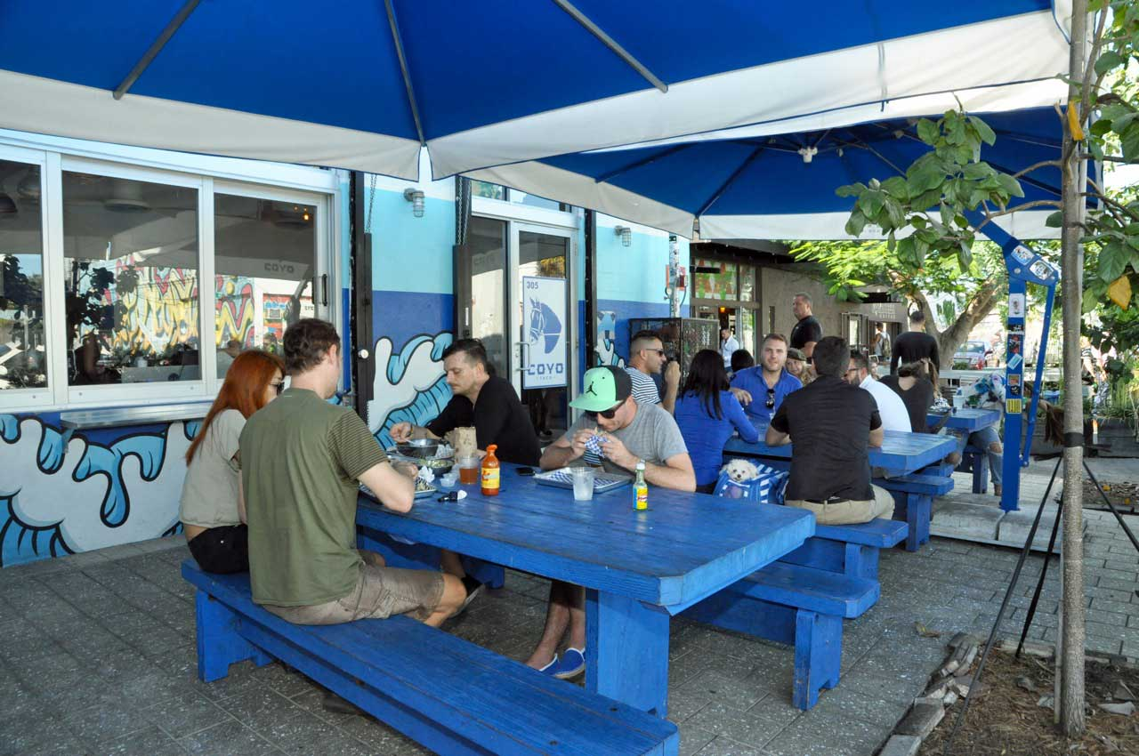 Wynwood's alcohol permits running dry