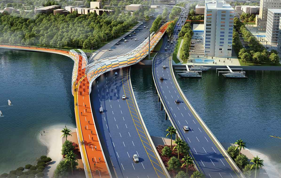 Rickenbacker Causeway on Virginia Key may get more bike friendly