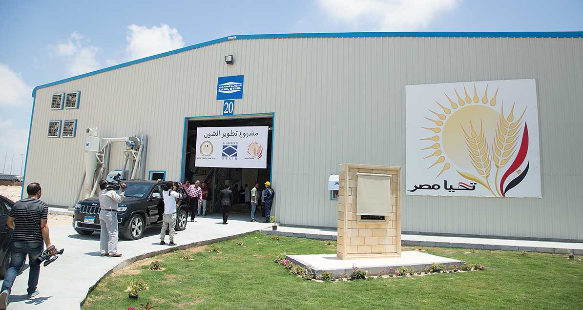Blumberg Grain contracting for 500 granaries in Egypt, Algeria