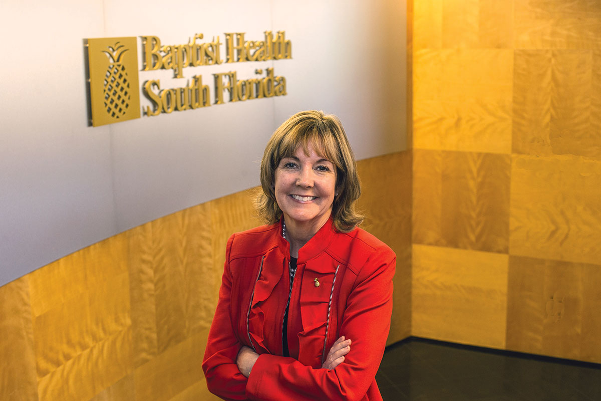 Kathleen Moorman: Spearheads real estate for Baptist Health South Florida