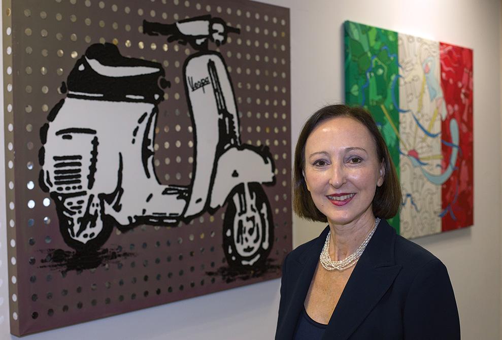 Gloria Marina Bellelli: Archaeologist heads Italy's regional Miami consulate