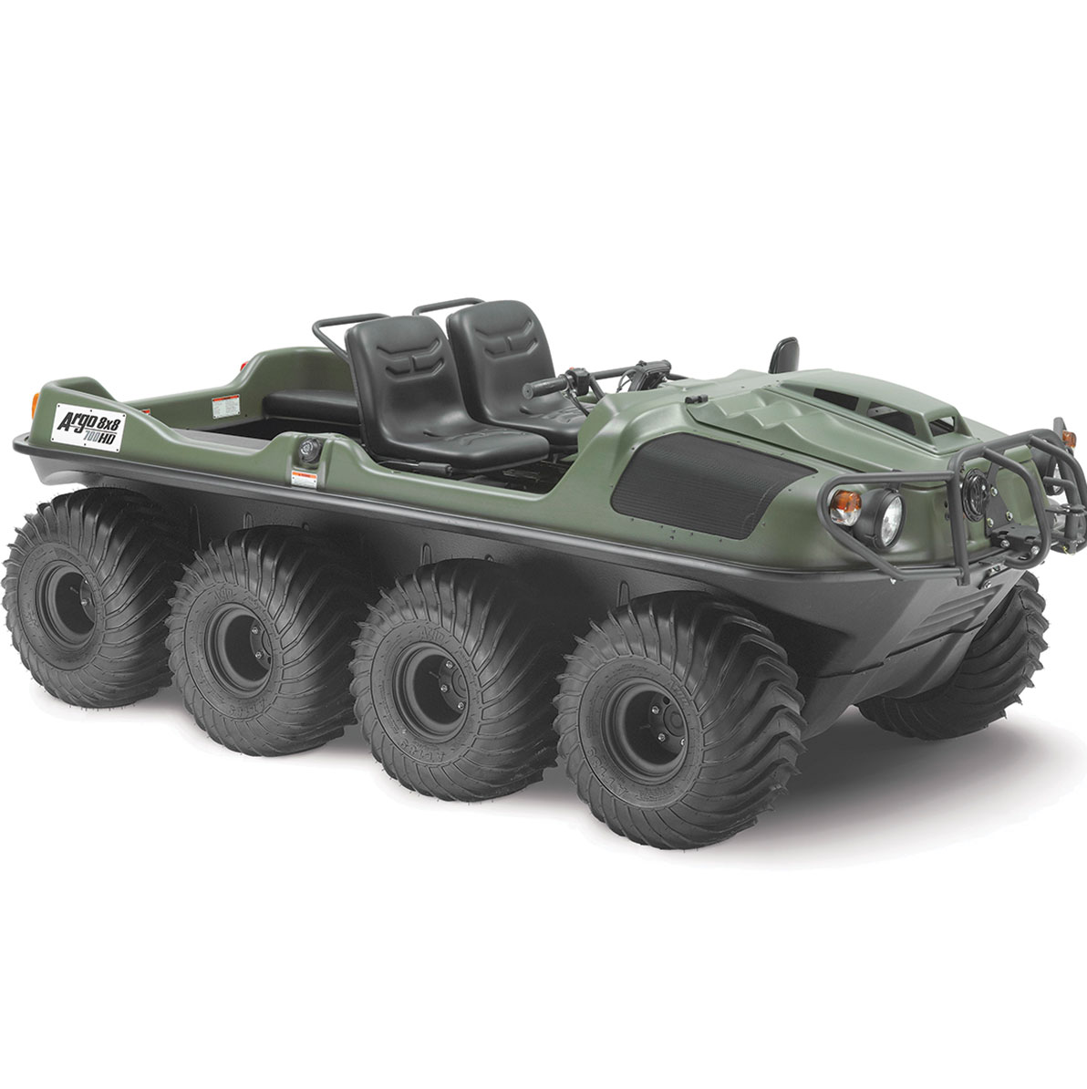 Agricultural Patrol may use amphibious all-terrain vehicles
