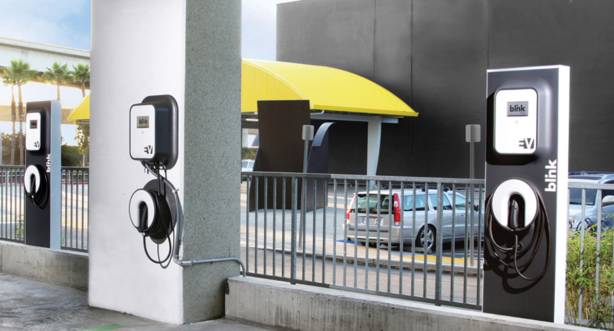 Electric car charging stations: Blink and they're late