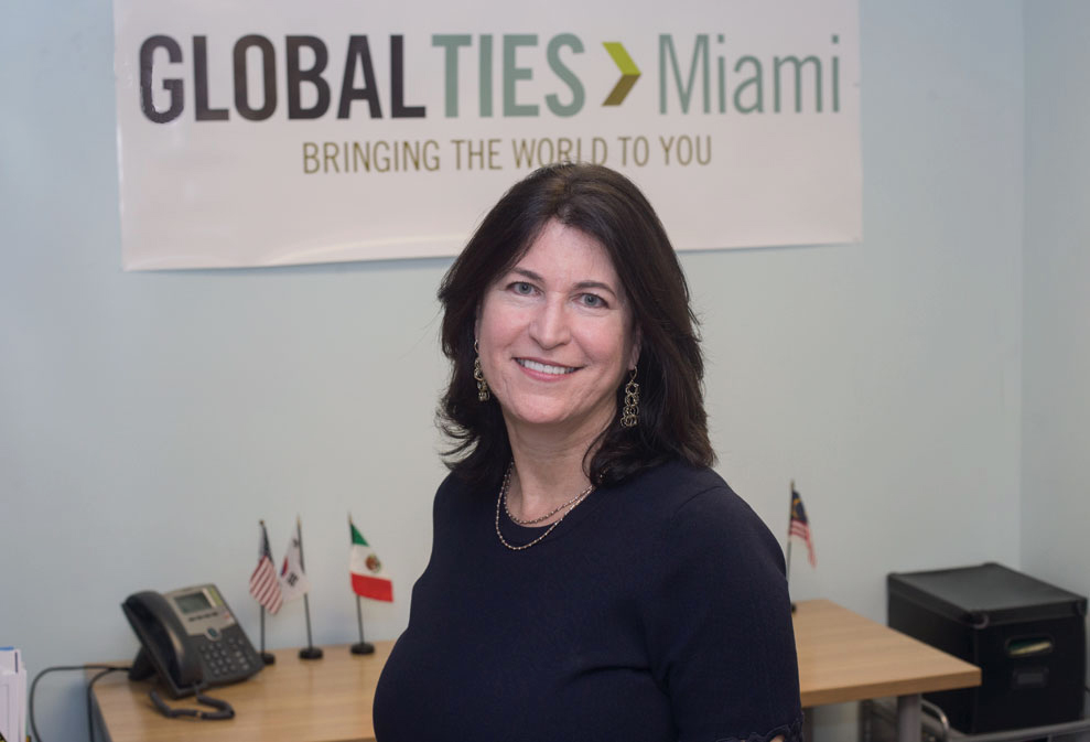 Annette Alvarez: Heads group taking foreign visitors into Miami homes