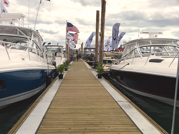 Path for 2017 Miami International Boat Show cleared