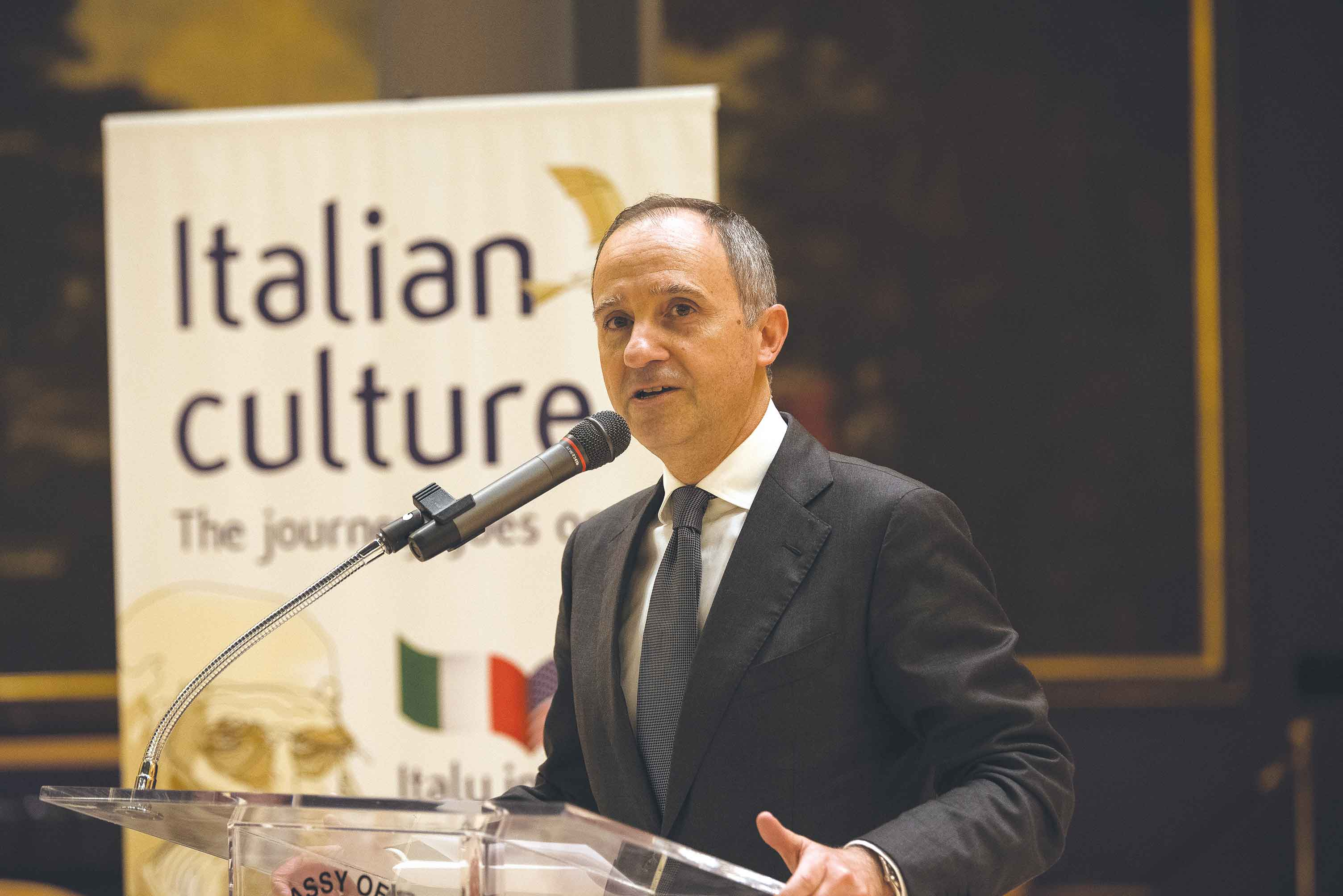 Italian ambassador seeks stronger South Florida ties