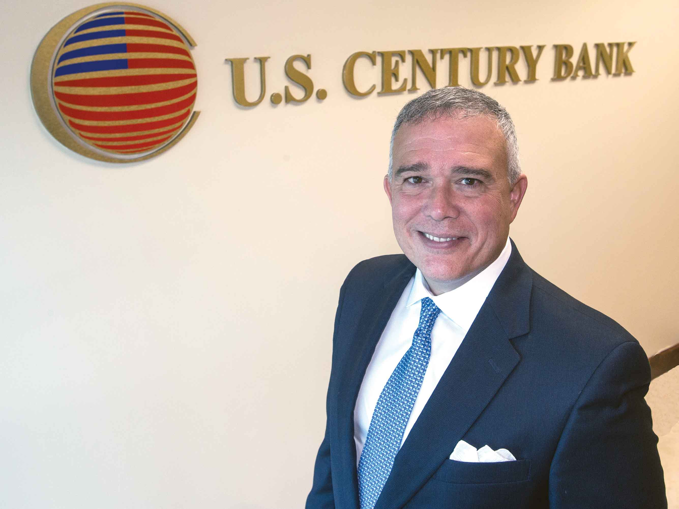 Luis de la Aguilera: President targets new markets for U.S. Century Bank