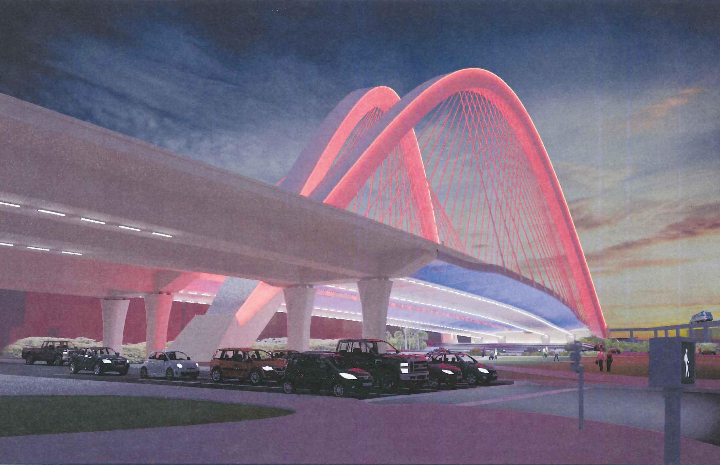 State nears new I-395 signature bridge downtown