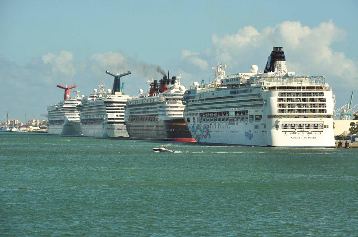 PortMiami Sets Global Passenger Record Miami Today - Cruise ship port in miami