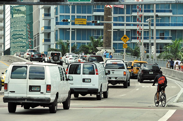 Relief for traffic jams when Brickell Bridge opens