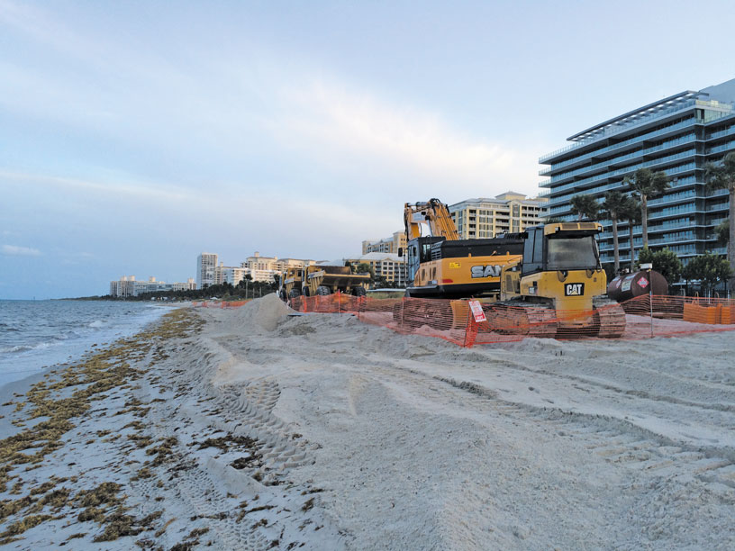 Key Biscayne getting new sand shoreline