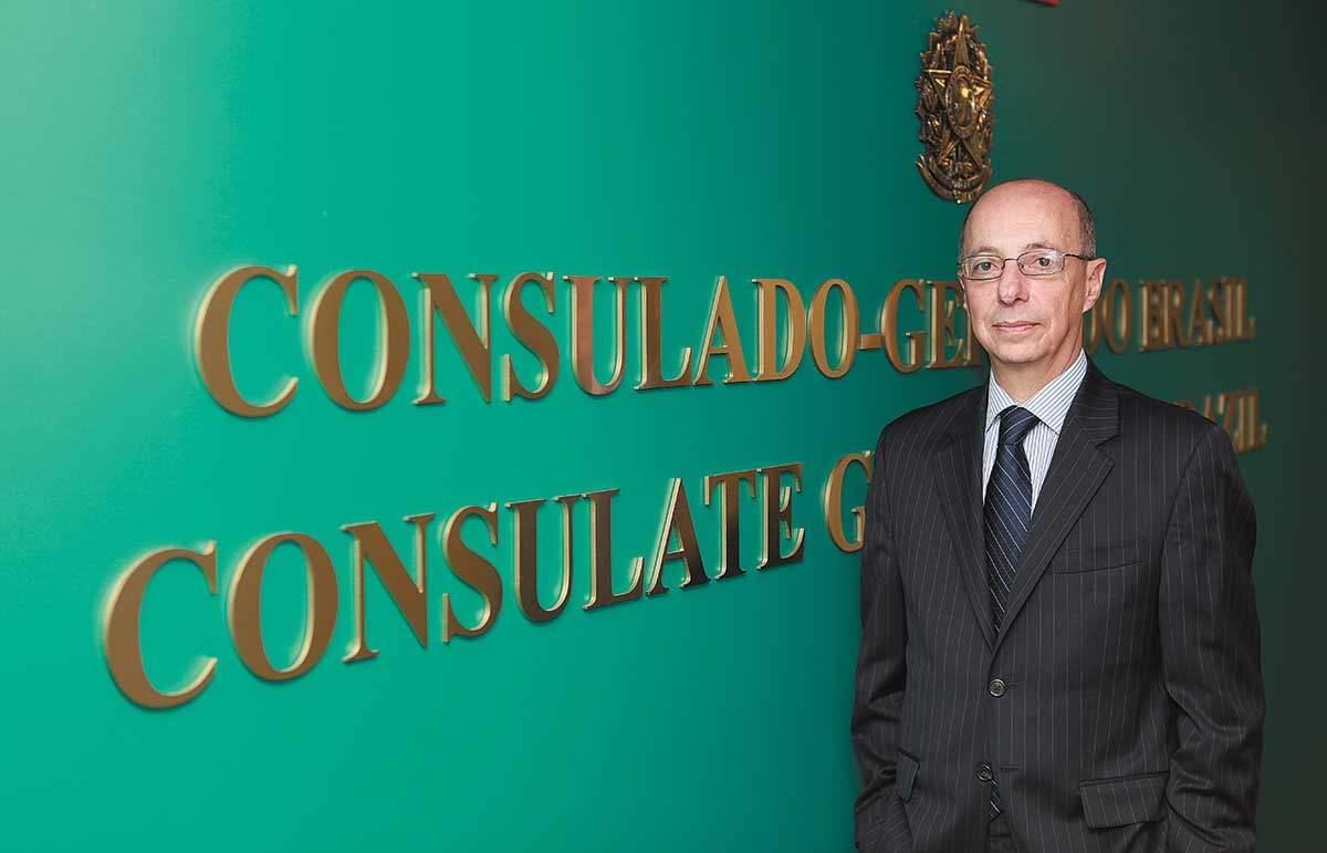 Adalnio Senna Ganem: Consul general promotes awareness of ties with Brazil