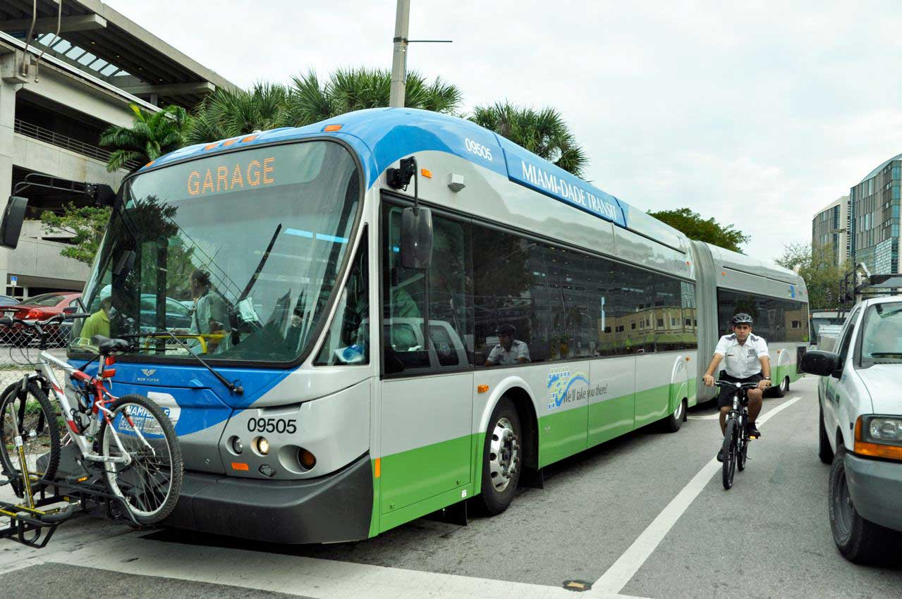 20% of Miami-Dade Transit's bus drivers absent every day