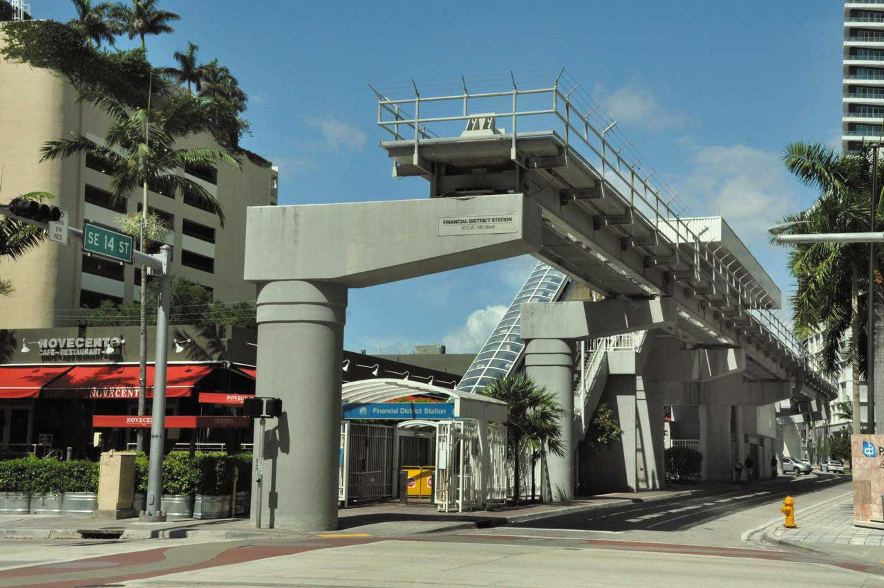 Strategic Miami Area Rapid Transit stops picked out
