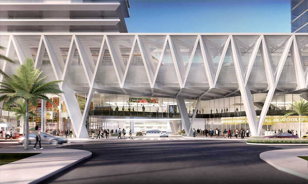 MiamiCentral and Brightline get aerial easement boost