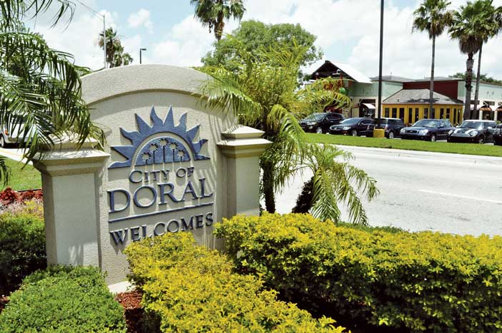 Doral is the fastest-growing large city in Florida
