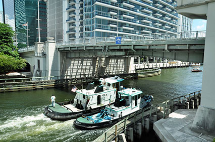 Drive on to reopen lane of Brickell Avenue Bridge