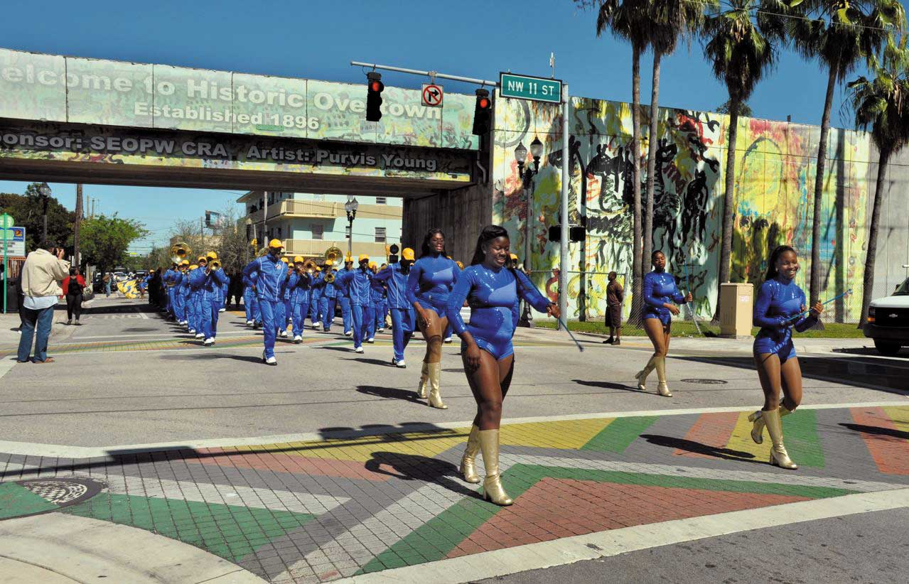Redevelopment agency adds $10,000 to finish Overtown mural