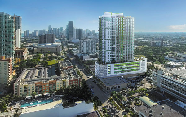 36-story tower replacing City Hall (the restaurant)