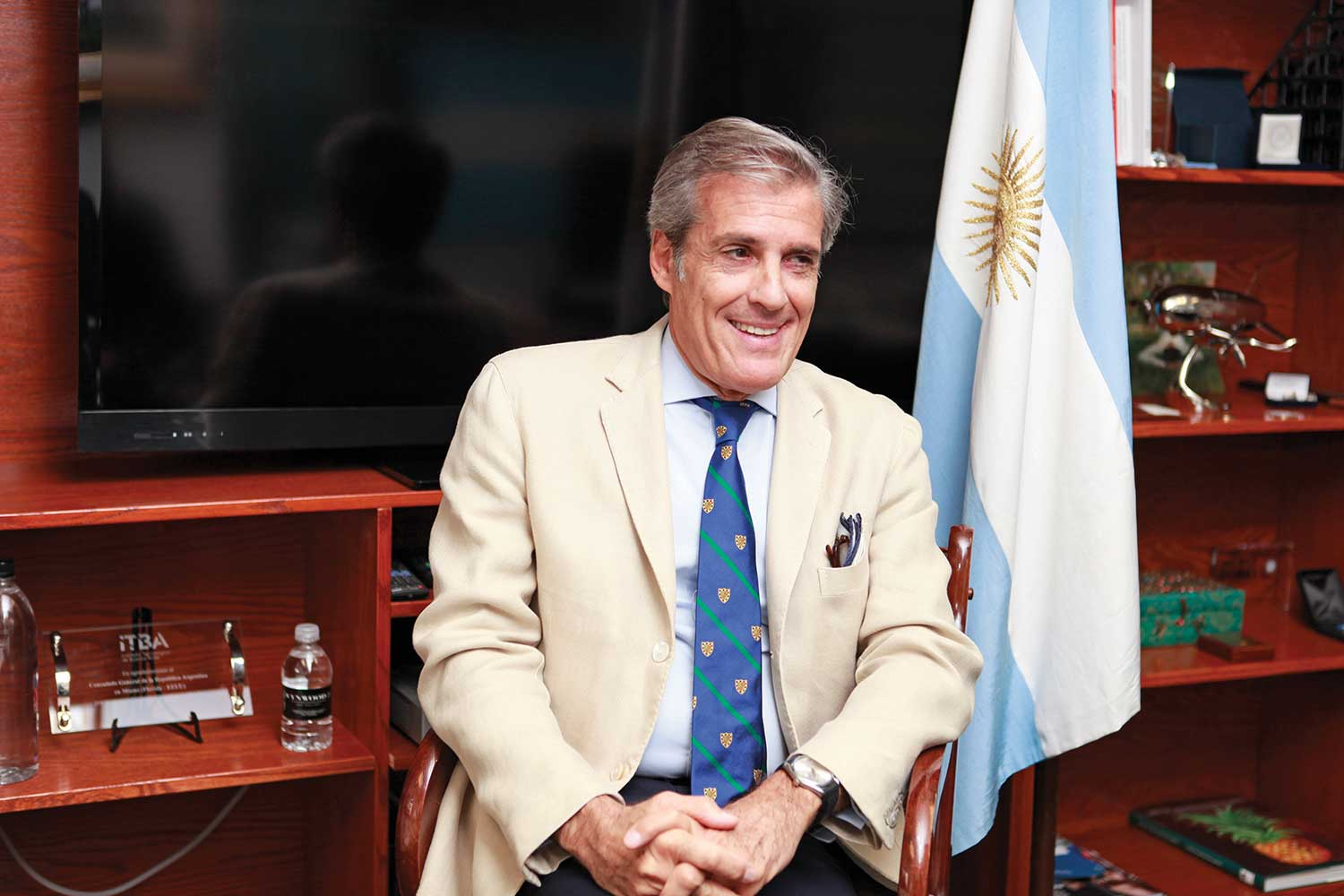 Marcelo Giusto: Consul General leads Argentina's promotion center too
