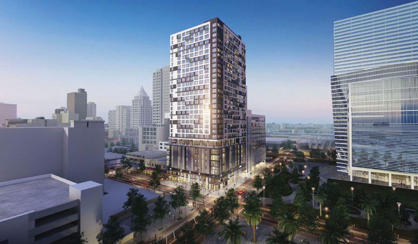 Deal set for public-private downtown Miami retail, apartments
