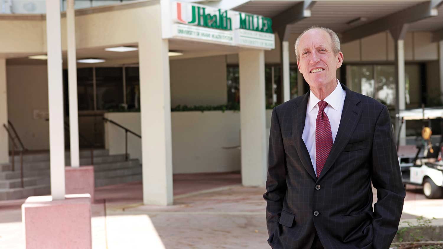Edward Abraham: Heading University of Miami Miller School of Medicine