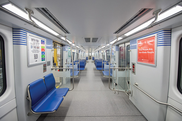 First 8 of 136 new Metrorail cars in testing