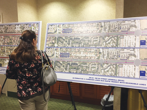 Florida Department of Transportation weighs five options for Kendall corridor
