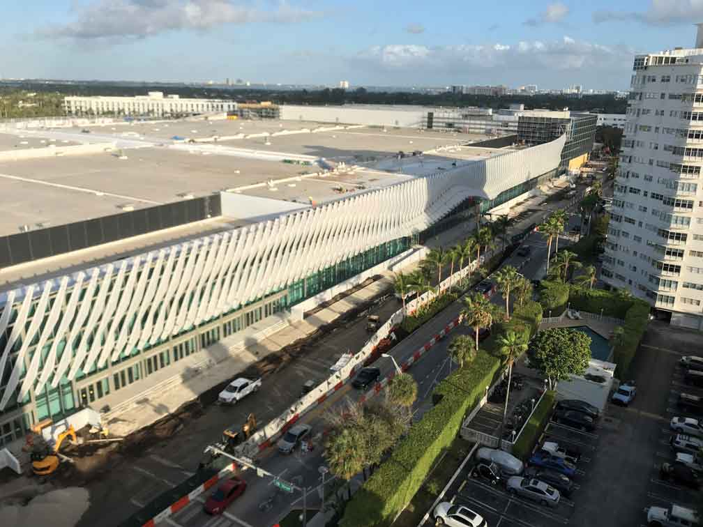 Miami Beach Convention Center revamp nearing its end